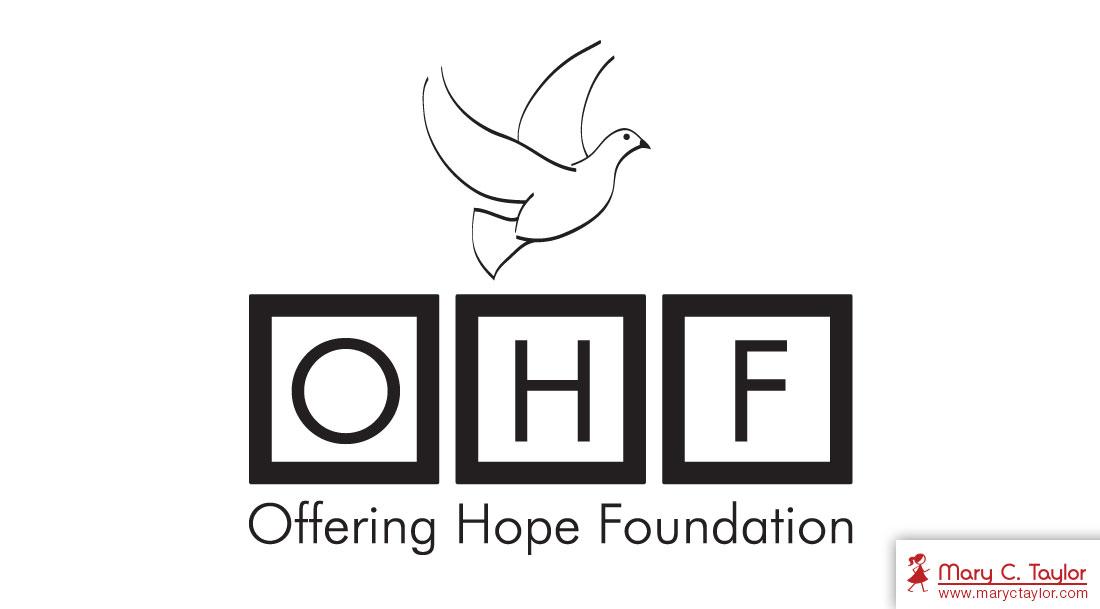 Offering Hope Foundation Illustration Logo Design